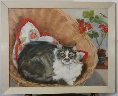 Painting Nora Sheridan