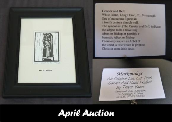 Auction_04_Art Print