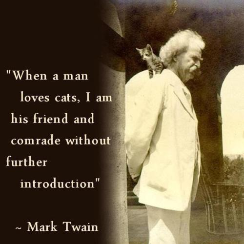 Twain when-a-man-loves-cats